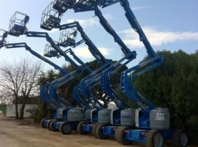 Máquinas Elevadoras Utilizadas Para Parcs I Jardins